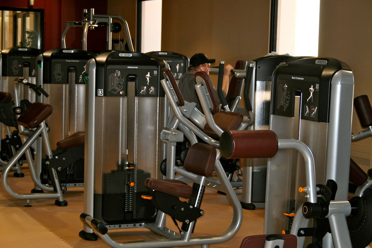 Fitness weight machines
